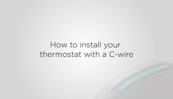 Installing your ecobee4   Smart home devices and thermostats   ecobee