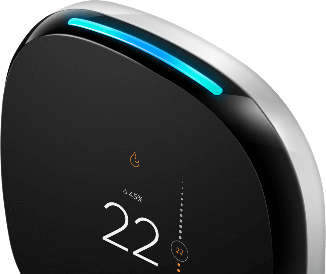 Voice-enabled smart thermostat with Room Sensor | ecobee4 | Smart
