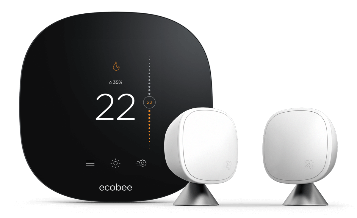 Wi-Fi-enabled smart thermostat | ecobee3 lite | Smart home devices
