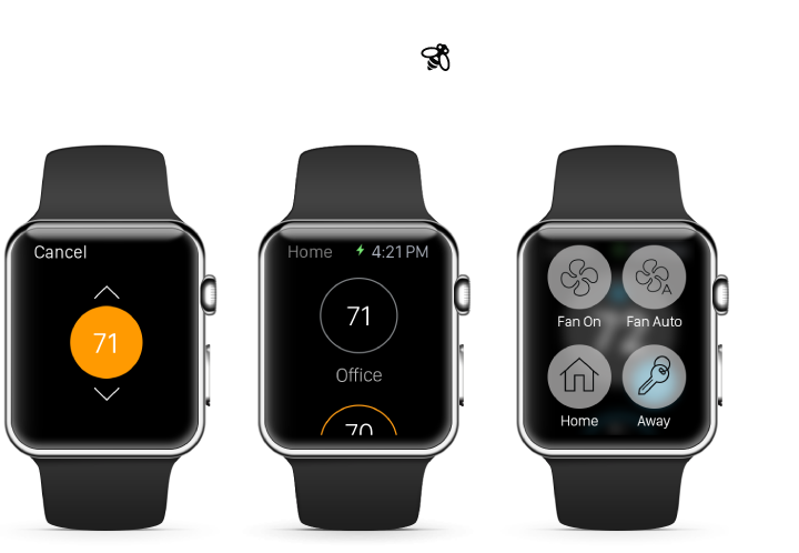Ecobee3 on Apple Watch
