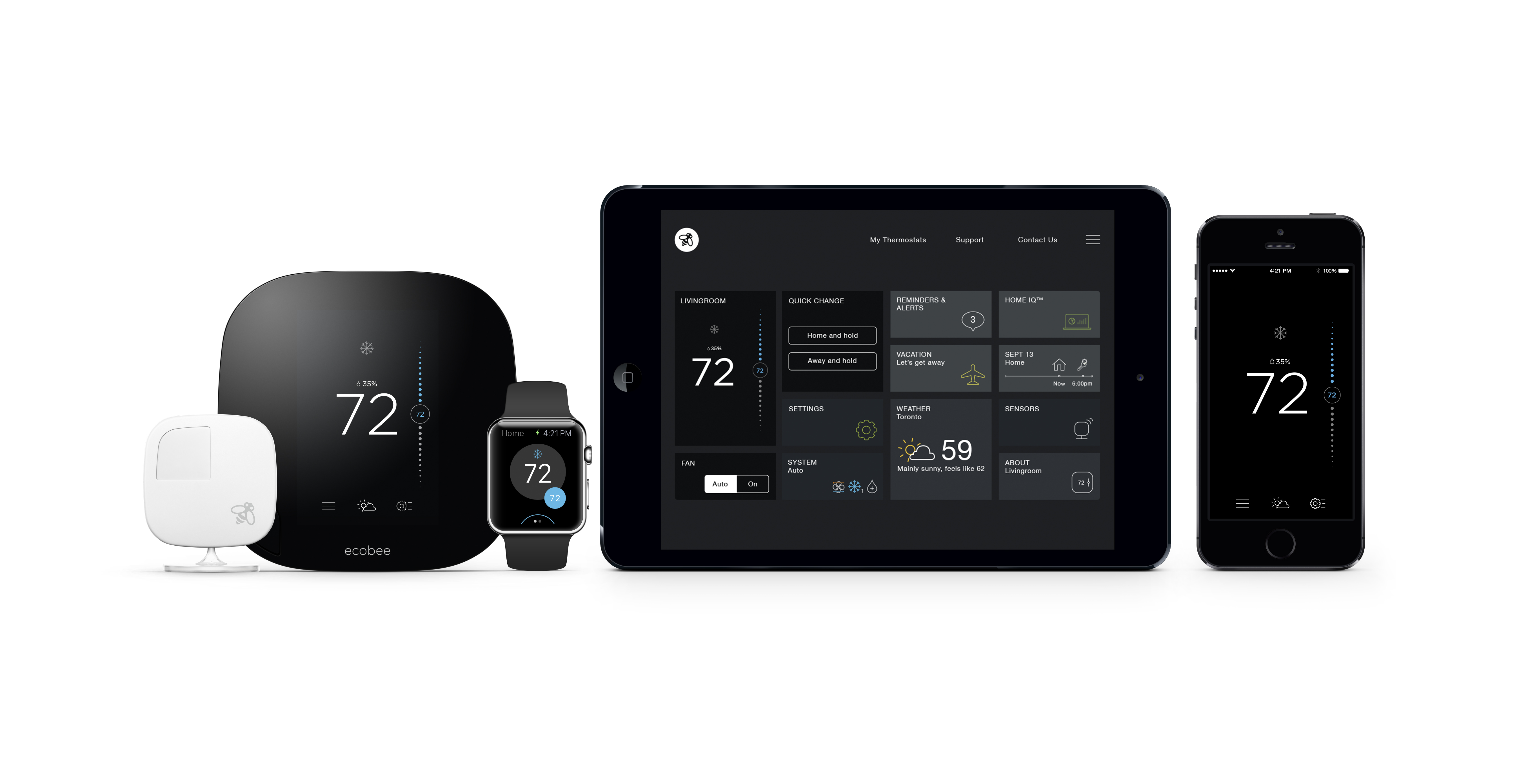Ecobee Press Room Smart Wifi Thermostats By Ecobee