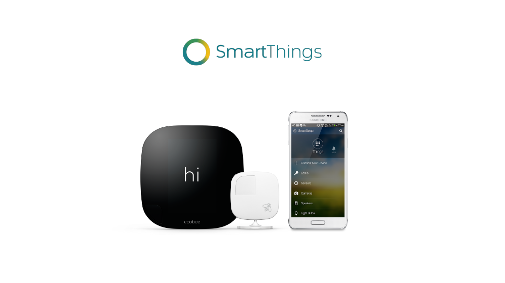 ecobee works with Samsung SmartThings