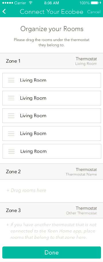 how to connect gogle home to ecobee thermostat